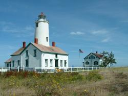 Sequim Lighthouse - Dungeness Spit Lighthouse